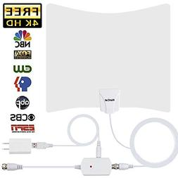 HotCat HDTV Antenna 130+ Miles Long Range Indoor Digital HDT