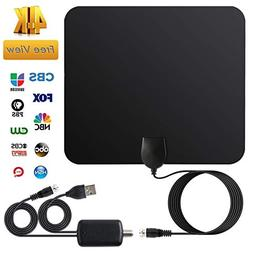 YOUNGFLY TV Antenna for Digital TV Indoor, Amplified HD Digi