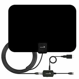 TV Antenna HD Digital Indoor Amplified HDTV Electronic Over