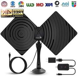 TV Antenna HDTV Antenna,Amplified HD Digital TV Antenna Indo