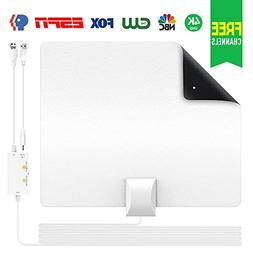 Two-Face 2018 Upgraded TV Antenna, Indoor Digital Amplified