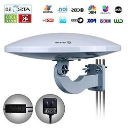 ANTOP UFO 360° Omni Reception Outdoor HDTV Antenna 65 Miles