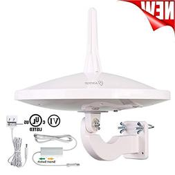 UFO Omnidirectional Outdoor TV Antenna, 720° Dual-Omni Rece