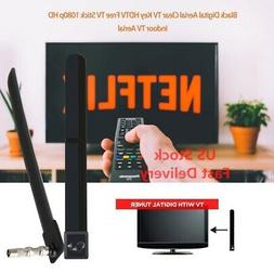 Ultra Thin 1080P Indoor HD TV Antenna 100 Free Channels Sign