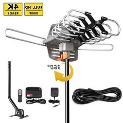 UPGRADED 2018 VERSION HD Digital TV Antenna Kit–Best 150 M