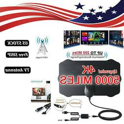 US 5000 Mile Shield HDTV Antenna 4K HD Indoor Digital TV Aer
