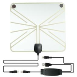 Useful Flat Clear Satellite Indoor Free HDTV Amplified Boost